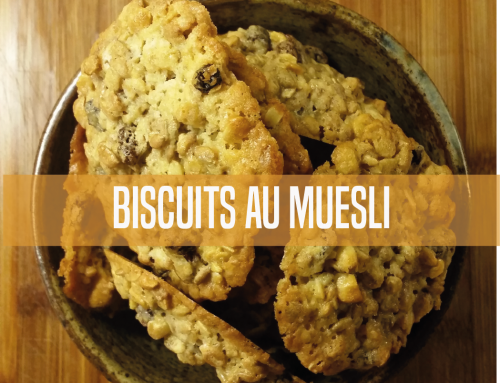 Biscuits au muesli bio