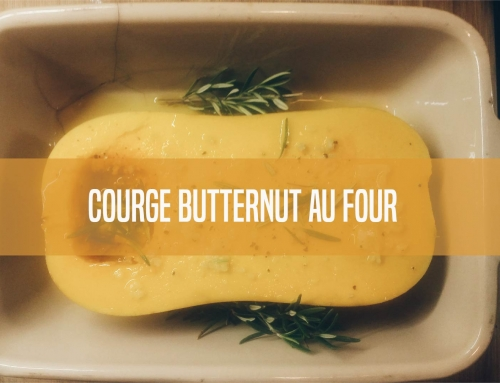 Courge butternut au four 100% bio et 100% facile!
