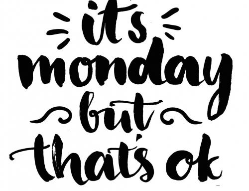 Bonne semaine à tous!