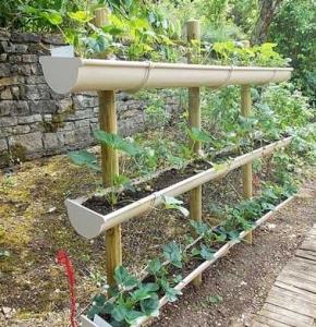 gouttieres-en-plastique-pour-realiser-un-jardin-potager