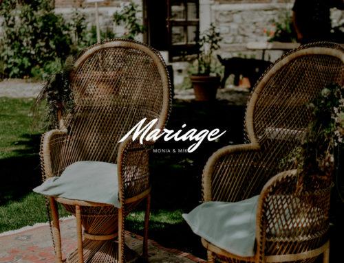 Le mariage de Monia et Mika