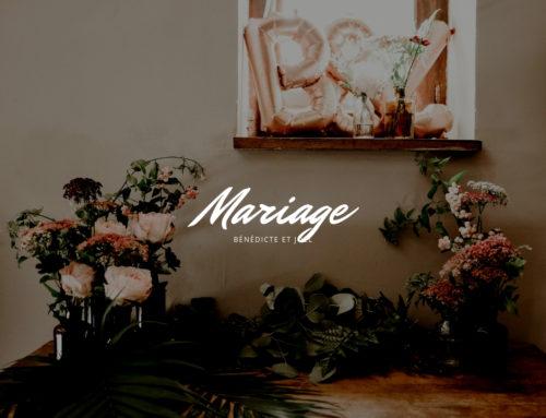 Le mariage végétal de Bénédicte et Joël