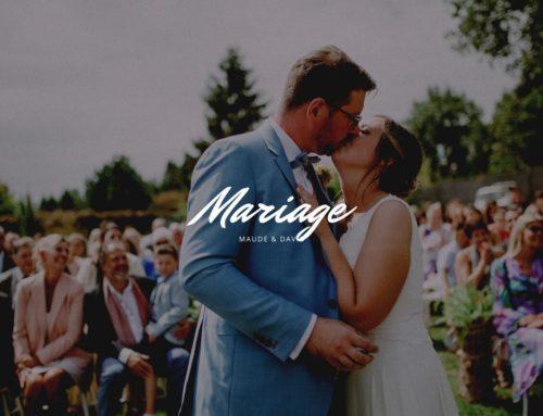 Le mariage de Maude et David