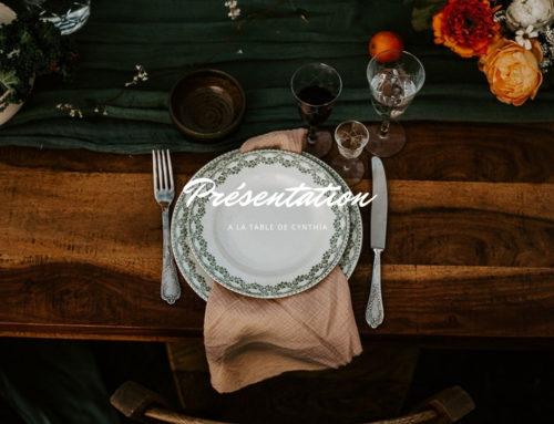 À La Table de Cynthia